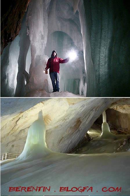 غارهای یخی اتریش